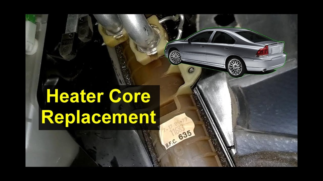 Volvo S80 Heater Core Replacement