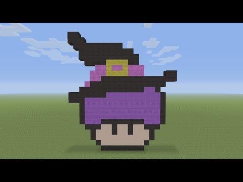 Minecraft Pixel Art Mcdonald S Happy Meal Mushroom Head Mp3