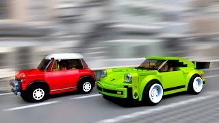LEGO Rally | Racing Crashes 🏁 Super Car - 2
