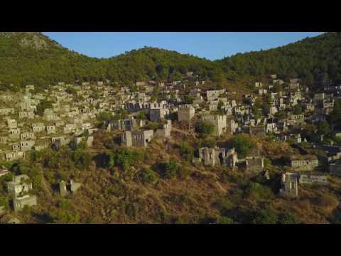 Fethiye Kayaköy Drone görüntüleri