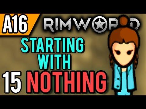 RimWorld Alpha 16 | Eat the Rocks (Let's Play RimWorld / Gameplay Part 15)