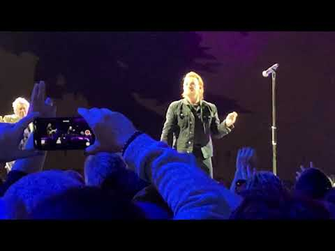 U2 - Bad (Epic Performance) Saitama Japan 2019 December 5