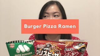 Burger, Pizza and Ramen: Food flavoured Chips: Monday Reviews
