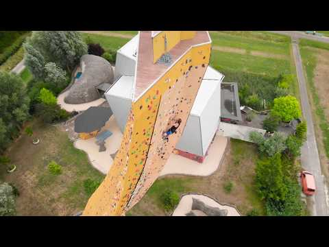 Randy Sierra - I'll just nope out on this Climbing wall
