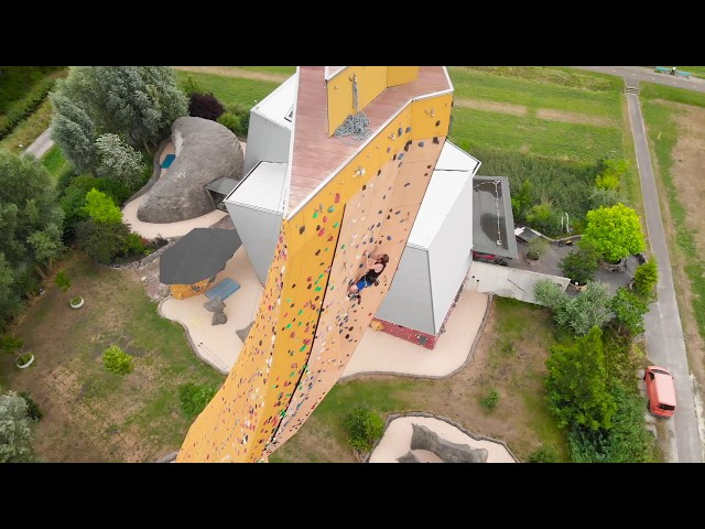 EXCALIBUR the largest free standing climbing wall 4K