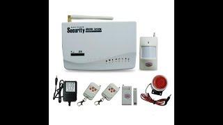 Інструкція до GSM сигналізації Home Alarm Security System