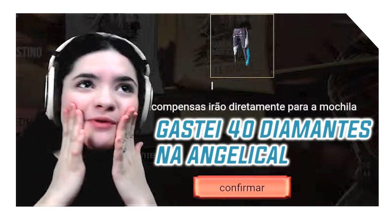 CALÇA ANGELICAL COM 40 DIAMANTES | ESPECIAL 13 MIL INSCRITOS