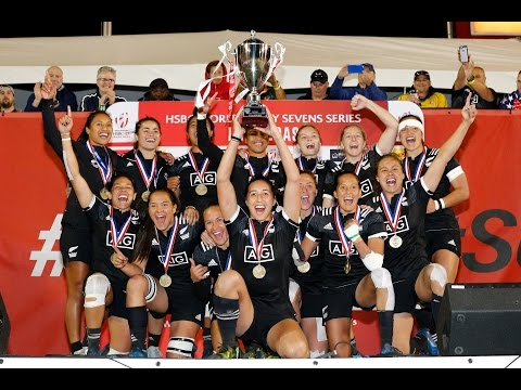New Zealand win women's sevens in Las Vegas!