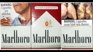 Cigarette Packs Show Disease, Too Much Regulation?