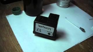 Принтер печатает с пробелами и полосит.