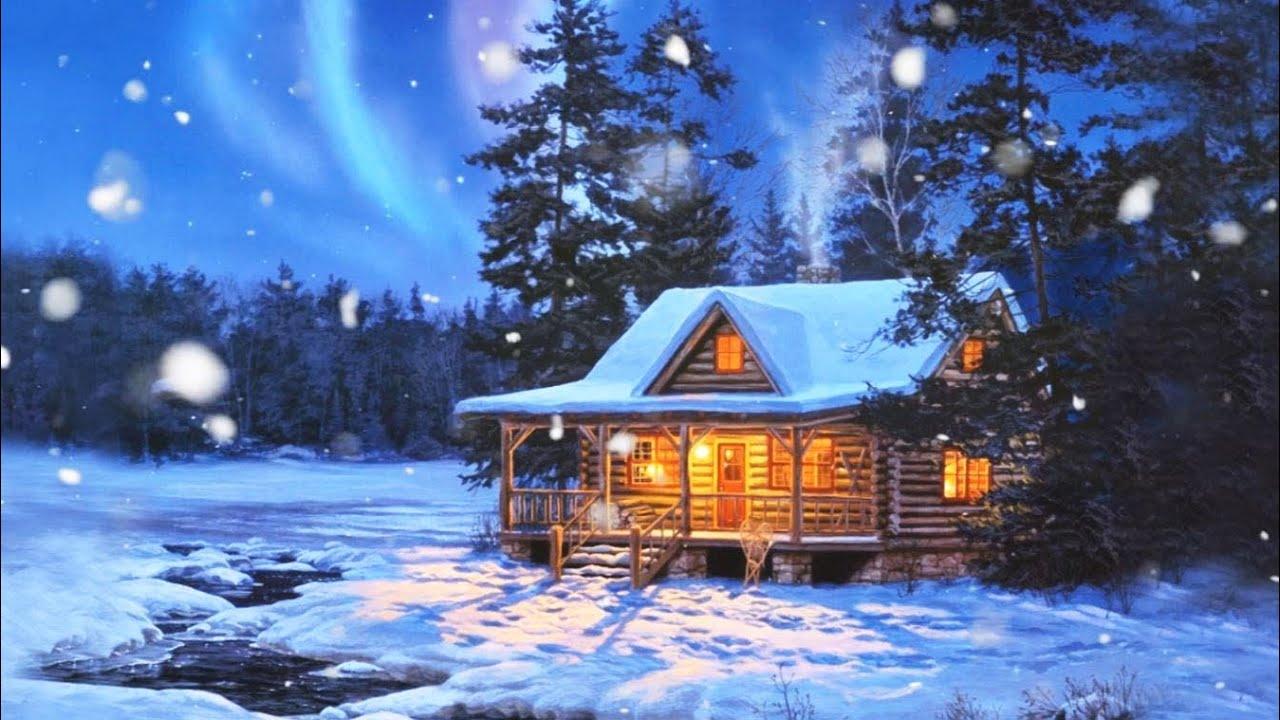 """Résultat de recherche d'images pour """"chalet dans la neige fantasy"""""""
