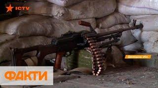 Засыпают смертоносным металлом. Боевики палят из пушки БМП-2