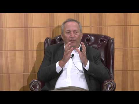 Larry Summers and Paul Wise on Global Health Security: March 2016