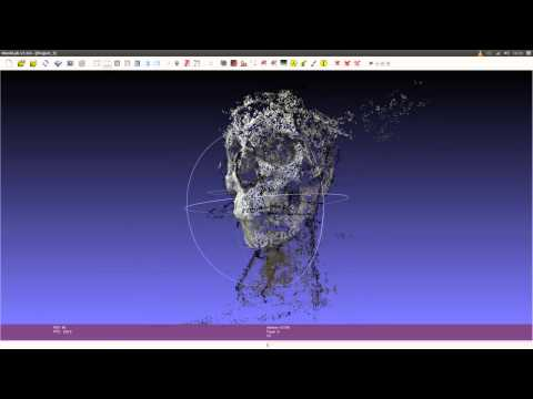 Converting a video into a 3D mesh with free software