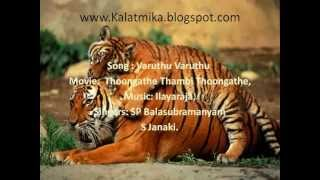 Varuthu Varuthu Tamil Karaoke For Male Singers