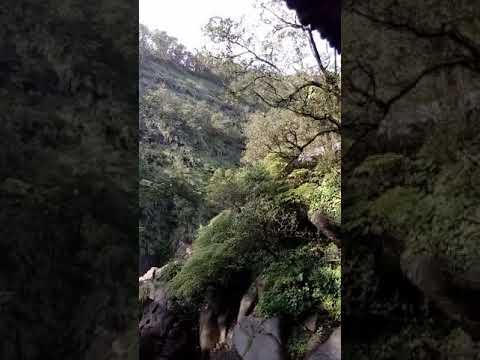 Shifen waterfall in Taiwan