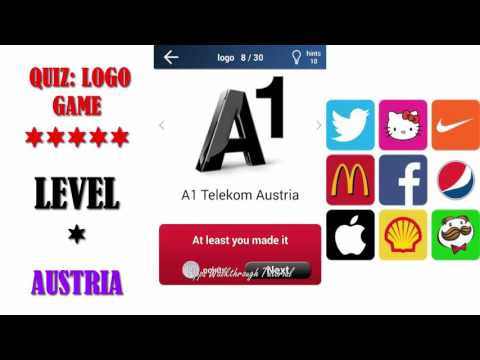 Quiz: Logo Game Austria - All Answers - Walkthrough ( By Lemmings at work )