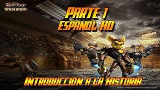 Ratchet Gladiator HD - Introducción a la historia y Estación del Terror - Español Parte 1