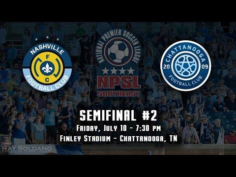 2015 NPSL Southeast Semifinal 2 - Nashville FC v Chattanooga FC