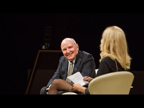 "Jack Welch on ""Strategy, Execution and People"""
