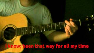 Creedence - Have You Ever Seen The Rain [Guitar Karaoke Instrumental] Lyrics on Screen (HD) REQUEST