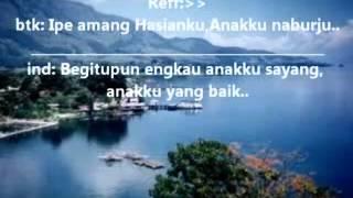 Anakku Naburju (Batak Song) Dengan Lirik.