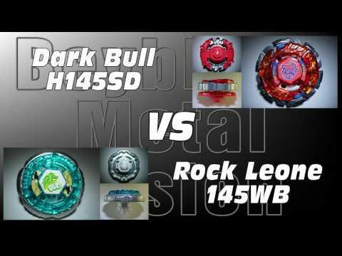 Dark Bull H145SD VS Rock Leone 145WB - AMVBB Beyblade Battle