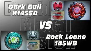 Dark Bull H145SD VS Rock Leone 145WB - AMVBB Beyblade Battle
