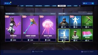 Fortnite Item Shop 7/2/19 *New* Starfish Skin!