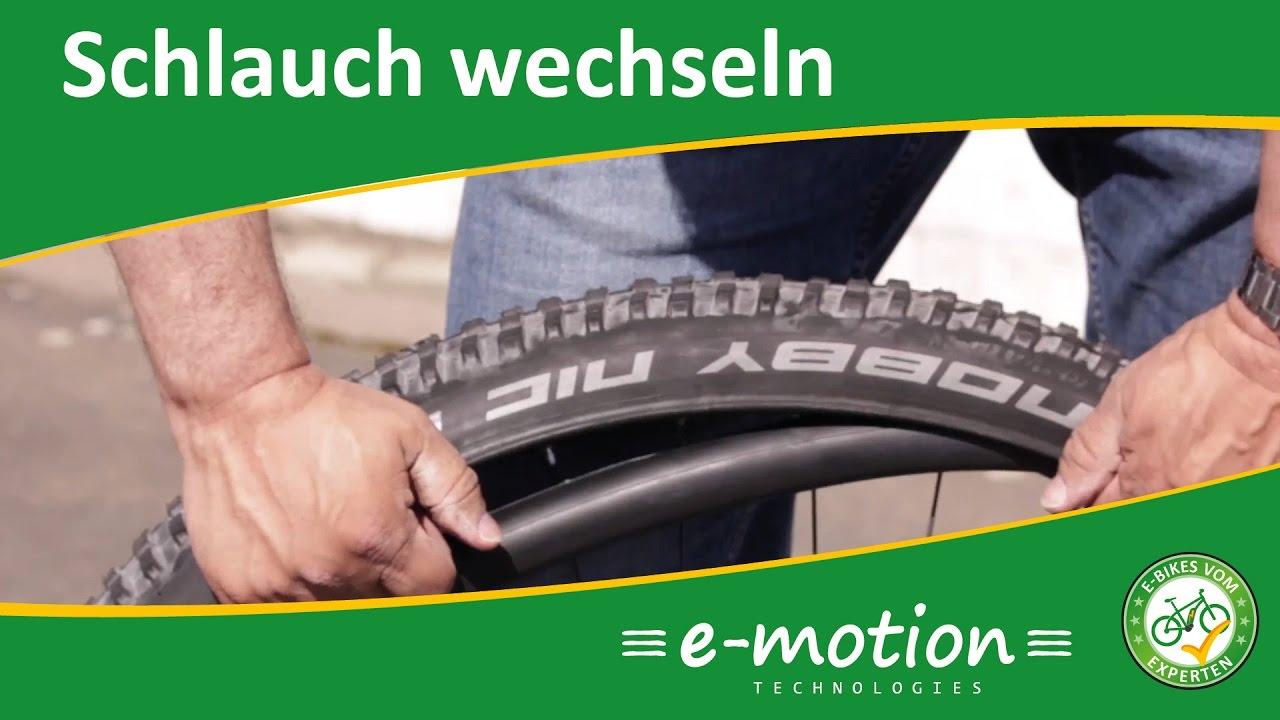 Schlauch wechseln beim e-Bike / Pedelec - Wie geht das