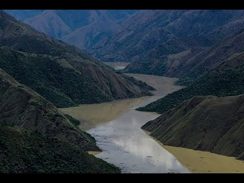 Así se ven el río Cauca y las obras de Hidroituango | Noticias Caracol