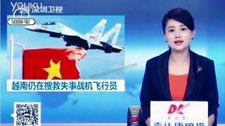 Nóng! Báo chí Trung Quốc rầm rộ đưa tin, bình phẩm về vụ Su-30 MK2 VN rơi trên biển Đông