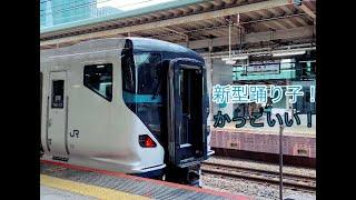 E257系踊り子発車