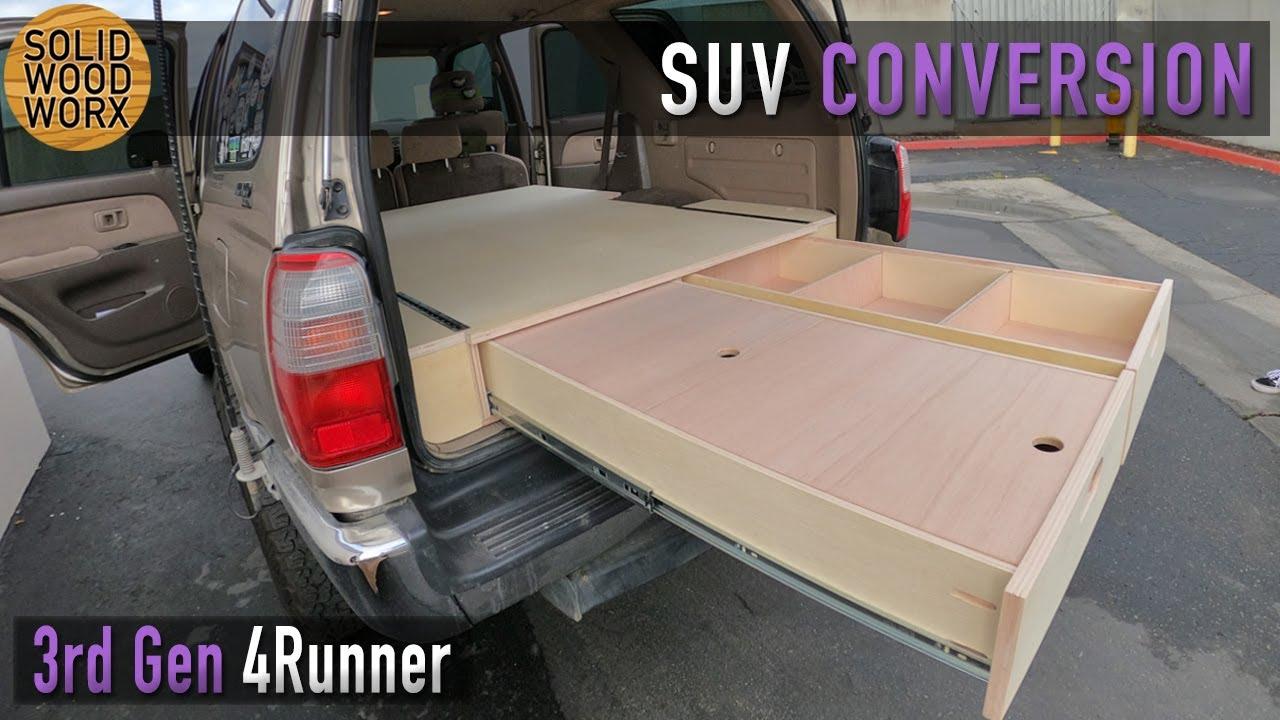 3rd Gen Toyota 4runner Bed Drawer System Youtube