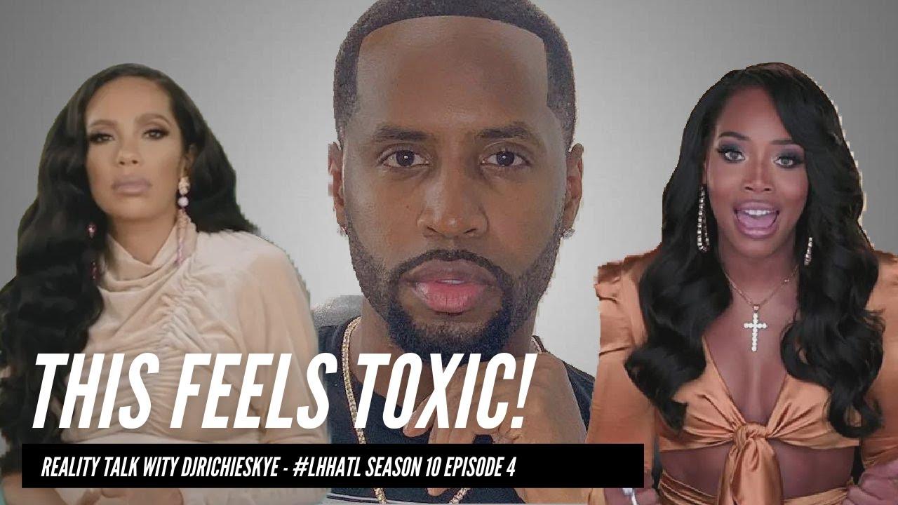 Download Erica Mena & Safaree SEEM VERY TOXIC For Each Other - LHHATL Season 10 Episode Four