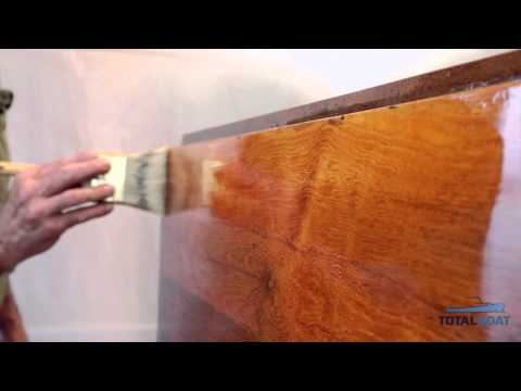 TotalBoat Gleam Marine Spar Varnish - How to Apply - Short Video