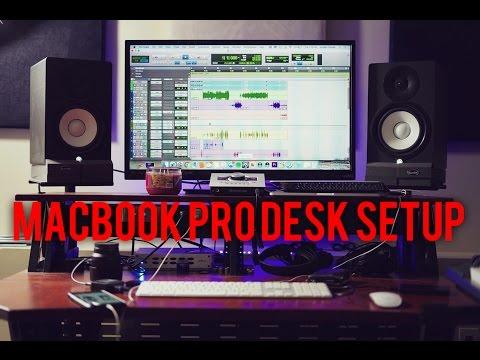 MACBOOK PRO DESK SETUP FOR THE STUDIO (VLOG #73)