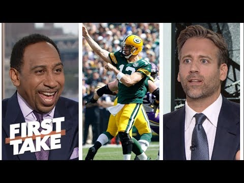 Stephen A and Max analyze if Packers should take it easy with Aaron Rodgers  First Take  ESPN