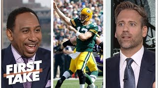 Stephen A. and Max analyze if Packers should take it easy with Aaron Rodgers | First Take | ESPN