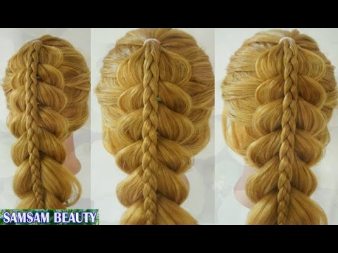 The Most Beautiful Hairstyles Tutorials January 2017 SAMSAM BEAUTY