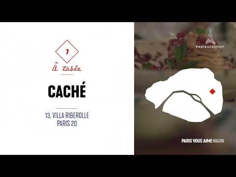 Coup de cur Paris vous aime magazine : le restaurant Caché