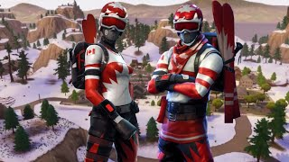 The SKINS of the CHRISTMAS SKIERS have RETURNED TO the FORTNITE 😱😱-Fortnite Battle Royale