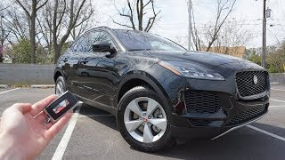 2018 Jaguar E-Pace S: Start Up, Walkaround And Test Drive