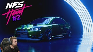 MI NUEVO MITSUBISHI LANCER EDICIÓN ESPECIAL! | NEED FOR SPEED HEAT #2