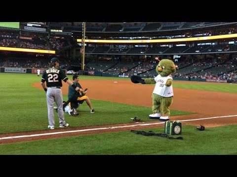 Astros mascot a favorite of A