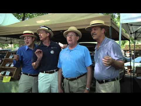 """The barbershop quartet  from Meredith Willson's """"The Music Man"""""""