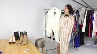Beyaz ceket kombinleri kadın