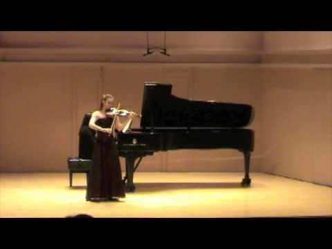 Chloe Trevor Beethoven Concerto: Allegro ma non troppo (part 1)