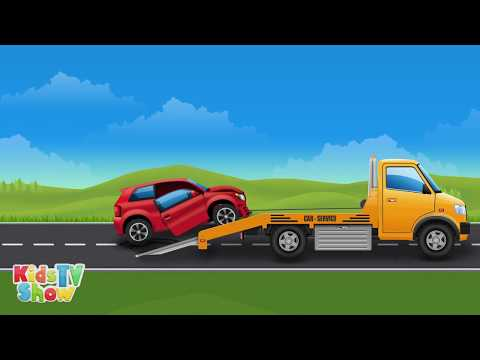 big trucks for kids vehicles compilation for children kids tv show youtube. Black Bedroom Furniture Sets. Home Design Ideas