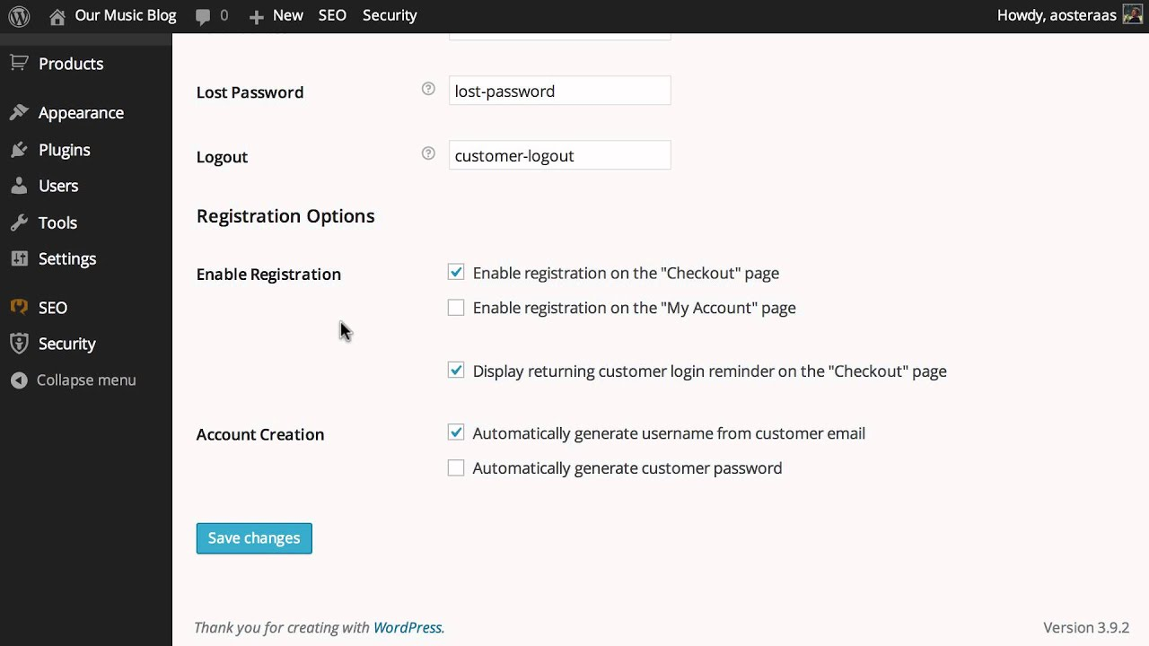 How to Configure User Account Management in WooCommerce